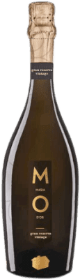 12,95 € Free Shipping | White sparkling Mo Masía d'Or Brut Nature Gran Reserva 2007 D.O. Cava Catalonia Spain Bottle 75 cl