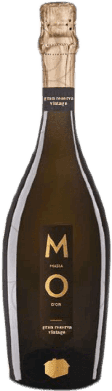 12,95 € Free Shipping | White sparkling Mo Masía d'Or Brut Nature Gran Reserva D.O. Cava Catalonia Spain Bottle 75 cl