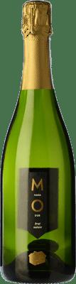 6,95 € Envío gratis | Espumoso blanco Mo Masía d'Or Brut Nature Joven D.O. Cava Cataluña España Botella 75 cl
