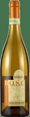 9,95 € Envio grátis | Espumante branco Otros Bosc d'la Rei D.O.C.G. Moscato d'Asti Itália Mascate Garrafa 75 cl | Milhares de amantes do vinho confiam em nós com a garantia do melhor preço, envio sempre grátis e compras e devoluções sem complicações.