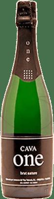 9,95 € Envio grátis | Espumante branco One Brut Nature Reserva D.O. Cava Catalunha Espanha Macabeo, Xarel·lo, Chardonnay, Parellada Garrafa 75 cl