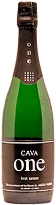9,95 € Free Shipping | White sparkling One Brut Nature Reserva D.O. Cava Catalonia Spain Macabeo, Xarel·lo, Chardonnay, Parellada Bottle 75 cl