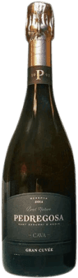 12,95 € Free Shipping | White sparkling Pedregosa Gran Cuvée Brut Nature Reserva D.O. Cava Catalonia Spain Bottle 75 cl