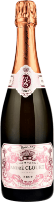 33,95 € Free Shipping | Rosé sparkling André Clouet Rose Brut Gran Reserva A.O.C. Champagne France Bottle 75 cl | Thousands of wine lovers trust us to get the best price guarantee, free shipping always and hassle-free shopping and returns.