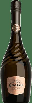 15,95 € Kostenloser Versand | Rosé Sekt Ars Collecta Gran Rosé Brut Gran Reserva D.O. Cava Katalonien Spanien Flasche 75 cl