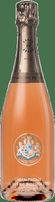 49,95 € Envío gratis | Espumoso rosado Barons de Rothschild Brut Gran Reserva A.O.C. Champagne Francia Pinot Negro, Chardonnay Botella 75 cl