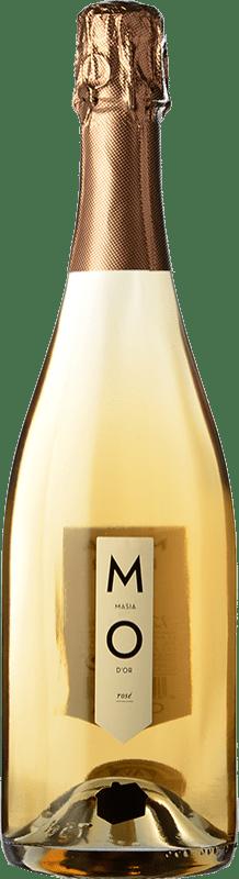 7,95 € Free Shipping | Rosé sparkling Mo Masía d'Or Rose Brut Joven D.O. Cava Catalonia Spain Bottle 75 cl