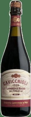 4,95 € Envío gratis   Espumoso tinto Cavicchioli Rosso D.O.C. Lambrusco di Sorbara Italia Lambrusco Botella 75 cl