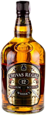59,95 € Free Shipping | Whisky Blended Chivas 12 Años Reserva United Kingdom Special Bottle 2 L
