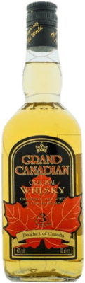 14,95 € Free Shipping | Whisky Blended Grand Canadian Canada Missile Bottle 1 L