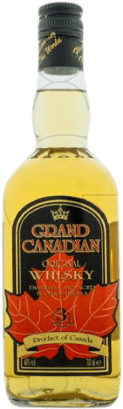 15,95 € Free Shipping | Whisky Blended Grand Canadian Canada Missile Bottle 1 L