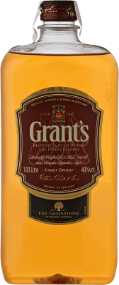 13,95 € Free Shipping | Whisky Blended Grant & Sons Grant's United Kingdom Petaca 1 L