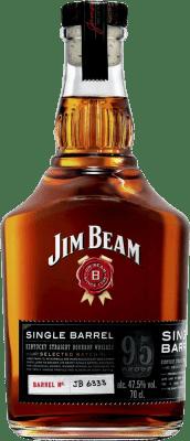 24,95 € Envío gratis | Whisky Blended Jim Beam Singel Barrel Reserva Estados Unidos Botella 75 cl