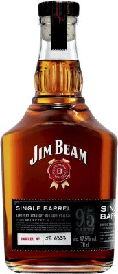27,95 € Free Shipping | Whisky Blended Jim Beam Singel Barrel Reserva United States Bottle 75 cl