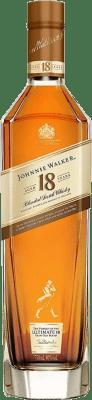 69,95 € Free Shipping | Whisky Blended Johnnie Walker 18 Años Ultimate Reserva United Kingdom Bottle 70 cl