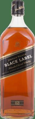 112,95 € Free Shipping | Whisky Blended Johnnie Walker Black Label Reserva United Kingdom Jeroboam Bottle-Double Magnum 3 L