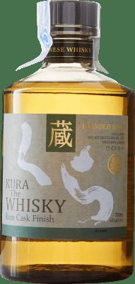 83,95 € Envío gratis | Whisky Blended Kura The Whisky Reserva Japón Botella 70 cl