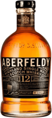 51,95 € Free Shipping | Whisky Single Malt Aberfeldy 12 Años United Kingdom Bottle 70 cl