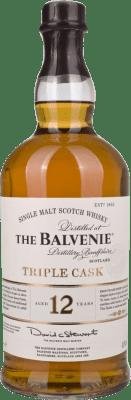 89,95 € Envoi gratuit | Whisky Single Malt Balvenie Triple Cask 12 Años Royaume-Uni Bouteille Missile 1 L