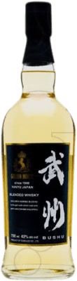 57,95 € Free Shipping | Whisky Single Malt Golden Horse Bushu Japan Bottle 70 cl