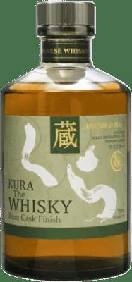 88,95 € Kostenloser Versand   Whiskey Single Malt Kura Rum Cask Finish Japan Flasche 70 cl