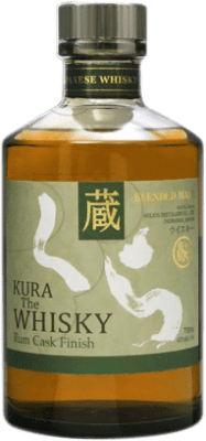 88,95 € Free Shipping | Whisky Single Malt Kura Rum Cask Finish Japan Bottle 70 cl