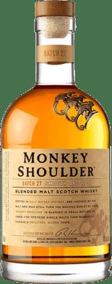 23,95 € Kostenloser Versand   Whiskey Single Malt Monkey Shoulder Großbritannien Flasche 70 cl