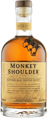 23,95 € Free Shipping | Whisky Single Malt Monkey Shoulder United Kingdom Bottle 70 cl