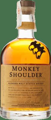 29,95 € Free Shipping | Whisky Single Malt Monkey Shoulder United Kingdom Missile Bottle 1 L