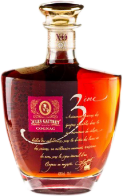 73,95 € Free Shipping | Cognac Jules Gautret X.O. Keops France Bottle 70 cl