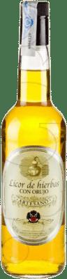 Herbal liqueur Artesano Spain Bottle 70 cl