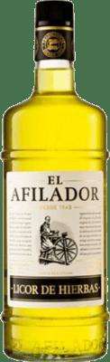 9,95 € Free Shipping | Herbal liqueur El Afilador Spain Missile Bottle 1 L