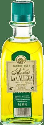 9,95 € Kostenloser Versand | Kräuterlikör La Gallega Spanien Flasche 70 cl