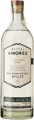 54,95 € Free Shipping | Mezcal Amores Cupreata Mexico Bottle 70 cl