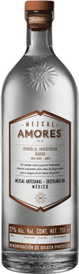 46,95 € Kostenloser Versand | Mezcal Amores Espadín Mexiko Flasche 70 cl