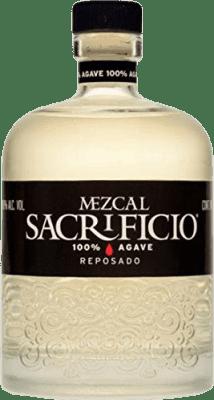42,95 € Kostenloser Versand | Mezcal Sacrificio Reposado Mexiko Flasche 70 cl