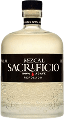 48,95 € Envoi gratuit | Mezcal Sacrificio Reposado Mexique Bouteille 70 cl