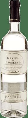 11,95 € Envío gratis | Grappa D.O.C. Prosecco Italia Botella 70 cl