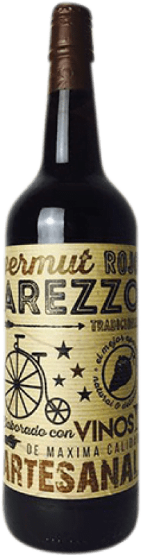 4,95 € Free Shipping | Vermouth Arezzo Rojo Spain Missile Bottle 1 L