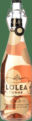 8,95 € Envío gratis | Sangría Lolea Nº 5 Rosé España Botella 75 cl