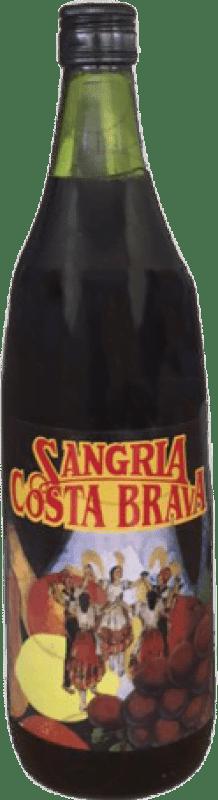 3,95 € Kostenloser Versand | Wein Sangria Costa Brava Spanien Rakete Flasche 1 L