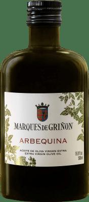 6,95 € Envío gratis | Aceite Marqués de Griñón Arbequina España Arbequina Media Botella 50 cl