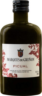 6,95 € Envoi gratuit | Huile Marqués de Griñón Picual Espagne Picual Demi Bouteille 50 cl