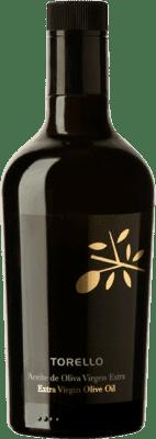 15,95 € Envío gratis | Aceite Torelló España Media Botella 50 cl