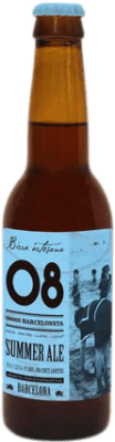 2,95 € Envoi gratuit | Bière Birra Artesana 08 Barceloneta Summer Ale Espagne Botellín Tercio 33 cl