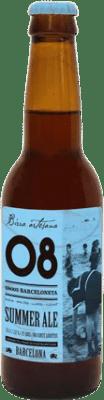 2,95 € Envío gratis   Cerveza Birra Artesana 08 Barceloneta Summer Ale España Botellín Tercio 33 cl