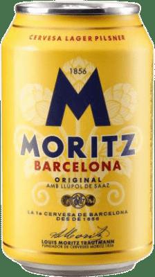 0,95 € Kostenloser Versand   Bier Cervezas Moritz Spanien Lata 33 cl