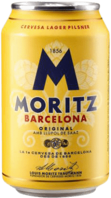 0,95 € Envío gratis   Cerveza Cervezas Moritz España Lata 33 cl