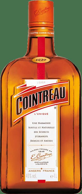 19,95 € Envío gratis | Triple Seco Rémy Cointreau Francia Botella Misil 1 L