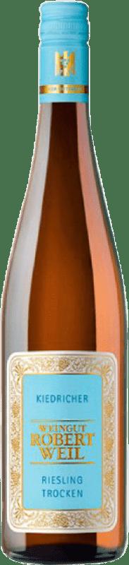 29,95 € Free Shipping | White wine Weingut Robert Weil Kiedricher Trocken Joven Germany Riesling Bottle 75 cl